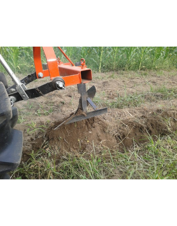 Plow for mini tractor