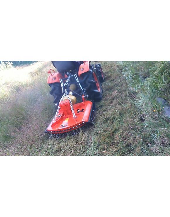 Mini tractor grass cutter